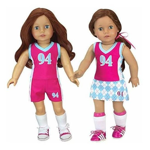 muñeca de sophia ropa uniforme deportivo & amp; equipo | se