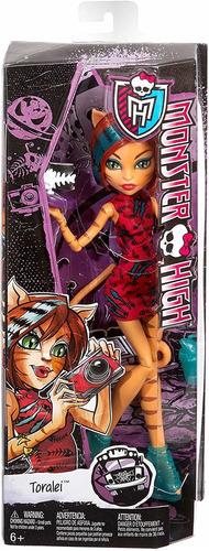 muñeca de toralei monster alta excursión freaky