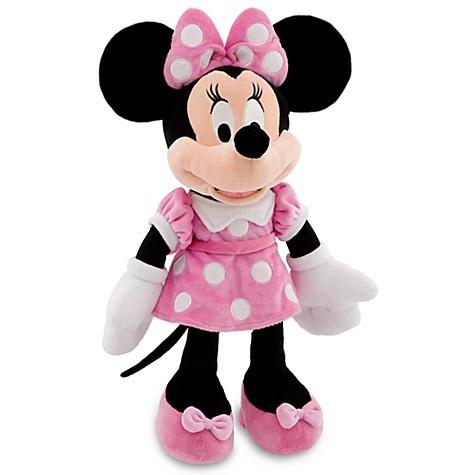 muñeca disney de minnie vesido rosada 45cm de alto disney