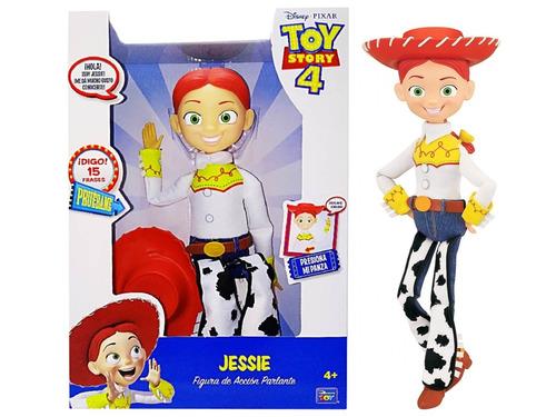 muñeca disney toy story vaquerita jessie 15frases mundomania