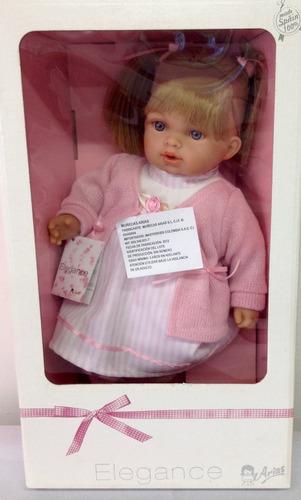 muñeca elegance de 33 cmts 5 sonidos fabrica arias españa