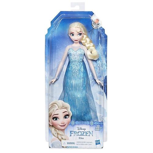 muñeca elsa clasica 27 cm hasbro frozen hasta 6 pagos