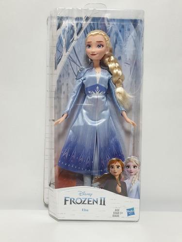 muñeca elsa de la  pelicula disney frozen 2 hasbro original