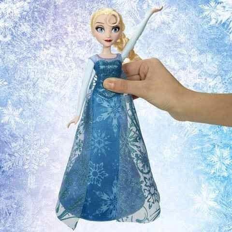 muñeca elsa frozen vestido musical canta y toca libre soy!