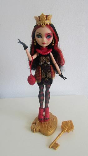 muñeca ever after high lizzie hearts