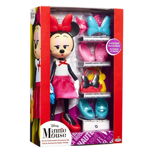 muñeca fashion minnie mouse super trendy (2321)