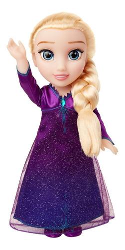 muñeca frozen elsa cantando disney