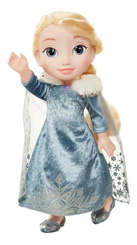 muñeca frozen elsa de 16 pulgadas interactiva