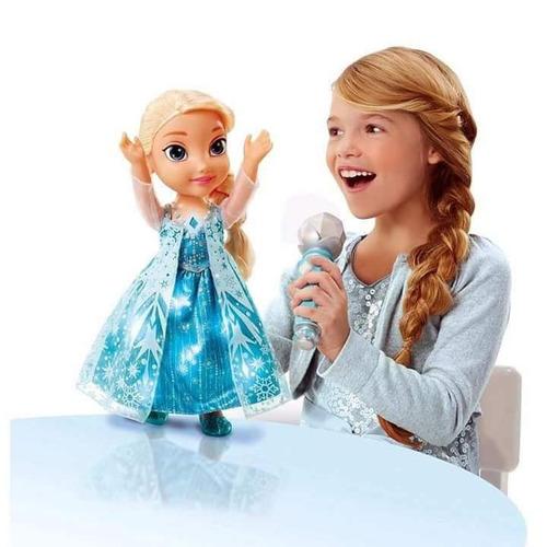 muñeca frozen elsa sing-a-long