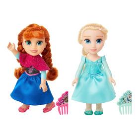 Muñeca Frozen Petite Pack Elsa Y Anna 20401