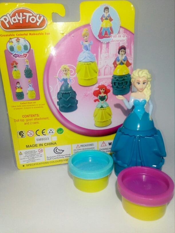Juguete Play Frozen Princesa Plastilina Niñas Muñeca Hielo BthCsQdxr