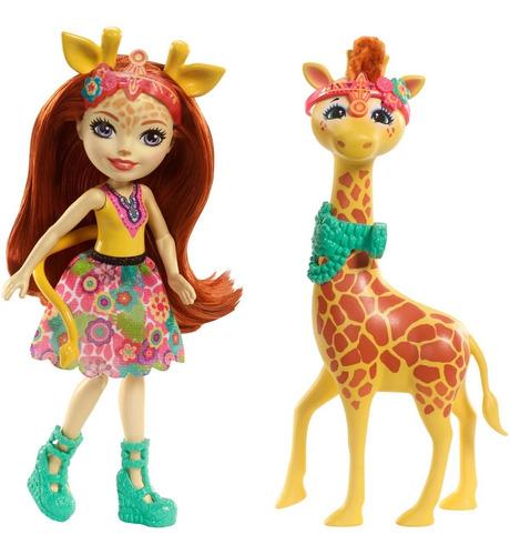 muñeca gillian giraffe enchantimals