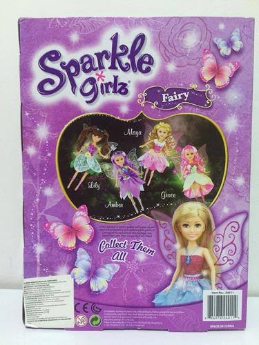 muñeca hada sparkle girlz