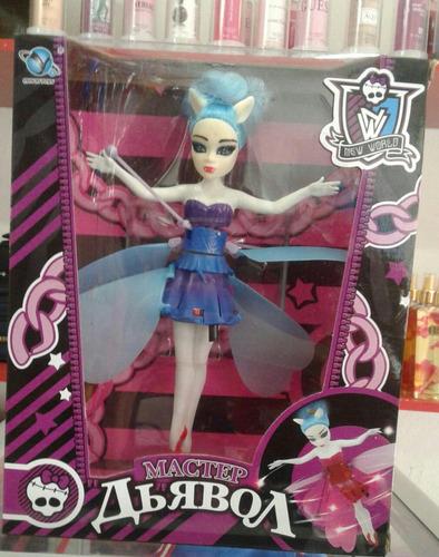muñeca hada voladora monster