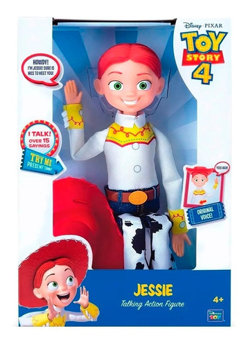 muñeca jessie toystory 4 disney 15 frases 35cms la vaquerita