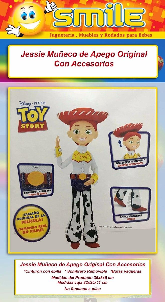 muñeca jessie vaquera toy story apego original en smile. Cargando zoom. de8e0020bac