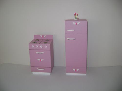 muñeca juego muebles