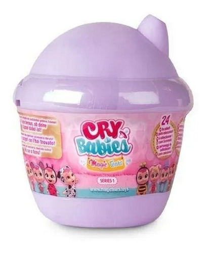 muñeca juguete cry babies magic tears sorpresa babymovil
