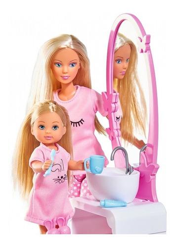 muñeca juguete steffi love hora de dormir simba 004