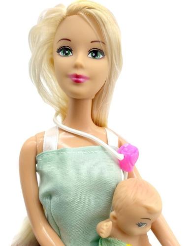 muñeca kiara pediatra profesiones + accesorios poppi cuotas