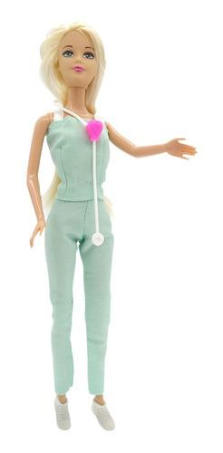 muñeca kiara pediatra profesiones con accesorios poppi nenas