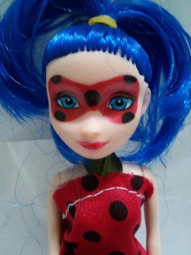muñeca ladybug miraculous 10cm juguetes niña fabans lady bug