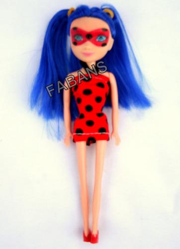 muñeca ladybug miraculous 15cm juguetes niña fabans lady bug