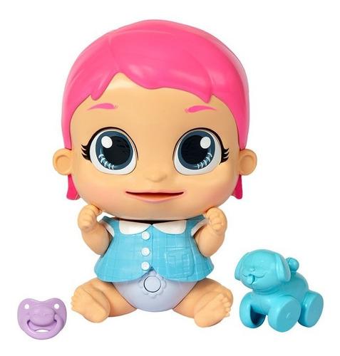 muñeca laffies bebe interactiva c/ sonido y expresion 95943