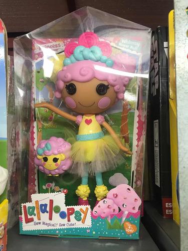 muñeca lalaloopsy princess mittens fluff 'n' stuff
