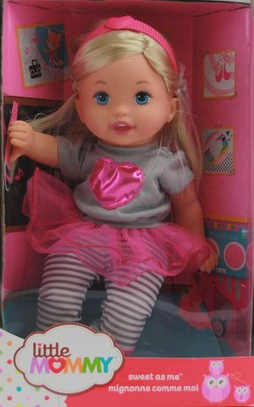 muñeca little mommy bellisima la musica le encanta