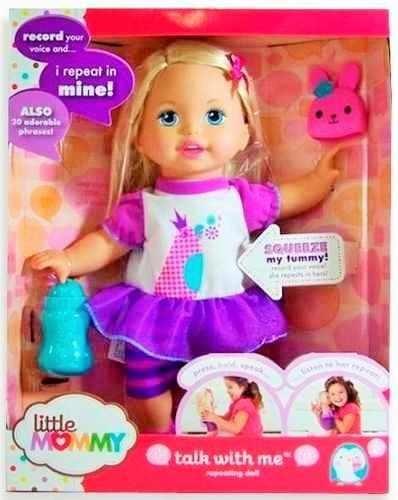 muñeca little mommy habla conmigo ref: x1031
