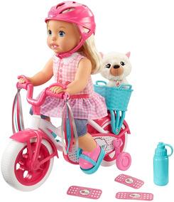 Paseo Mattel Original Bicicleta Muñeca Mommy En Little 8OmNnv0yw