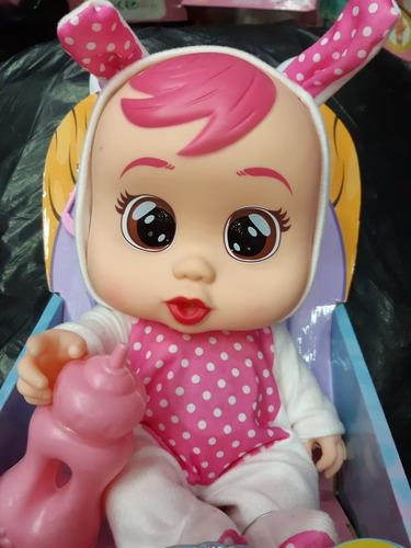 muñeca llorona cry babies 19cm