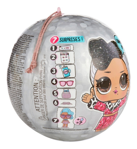 muñeca l.o.l bling series lol originales r2962