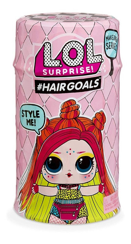 muñeca l.o.l  lol surprise hairgoals makeover entrega ya