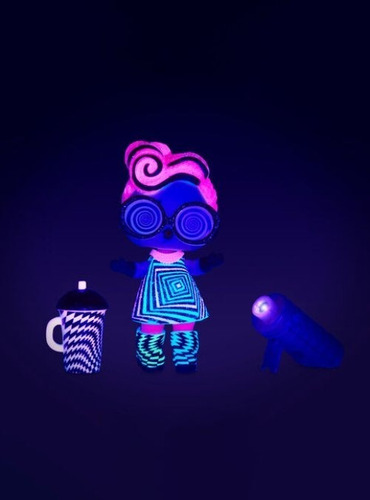 muñeca l.o.l. lol surprise lights glitter 564829 glow full