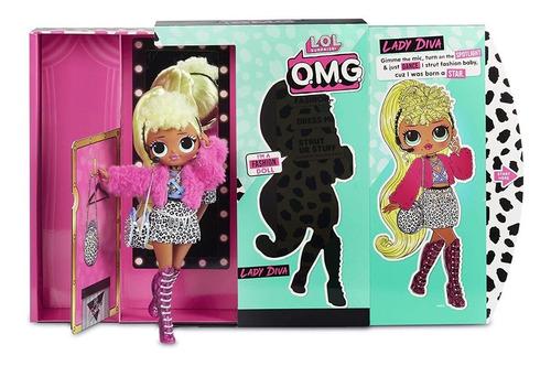 muñeca lol omg l.o.l. surprise o.m.g. lady diva fashion doll