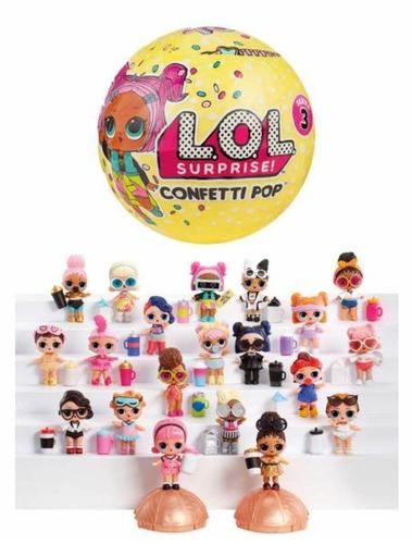 muñeca l.o.l surprise confetti pop serie 3 original lol