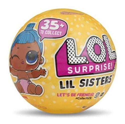 muñeca lol surprise lil sisters serie 3 original 50% (2443)
