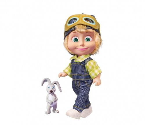 muñeca masha y el oso con amigo - original niña juguete