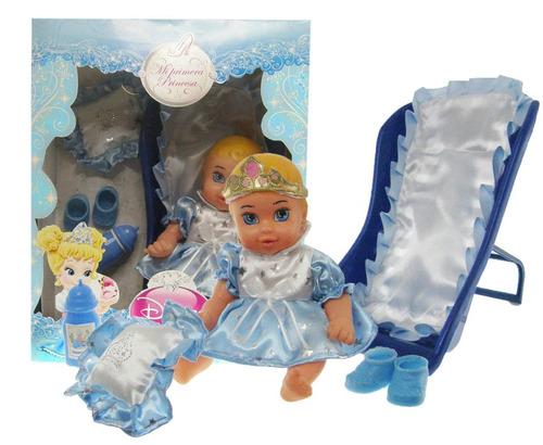 muñeca mi primera princesa blancanieves cenicienta v. crespo