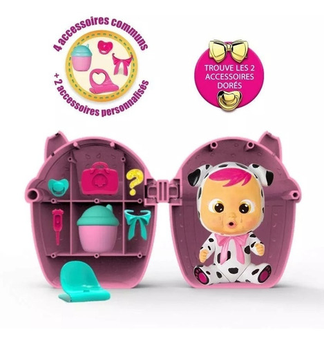 muñeca mini cry babies bebes llorones envio inmediato