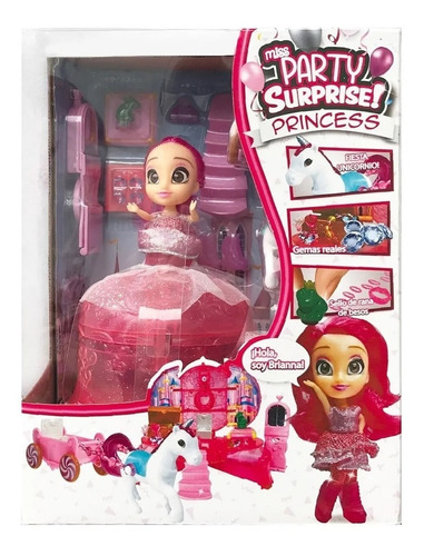 muñeca miss party surprise 1283 brianna original