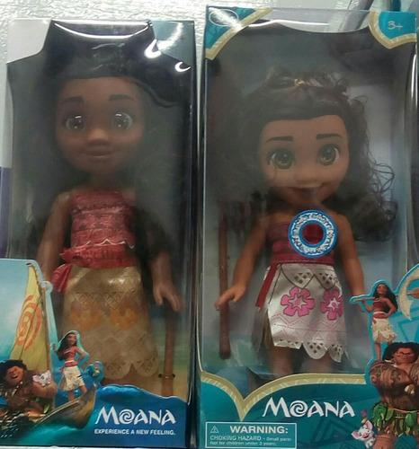muñeca moana canta de 35 cm luces niña navidad