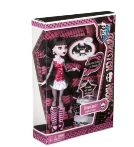 muñeca monster high draculaura