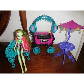 Muñeca Monster High Set De Cafetería