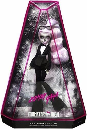 muñeca monster high zomby lady gaga 2017 envío gratis