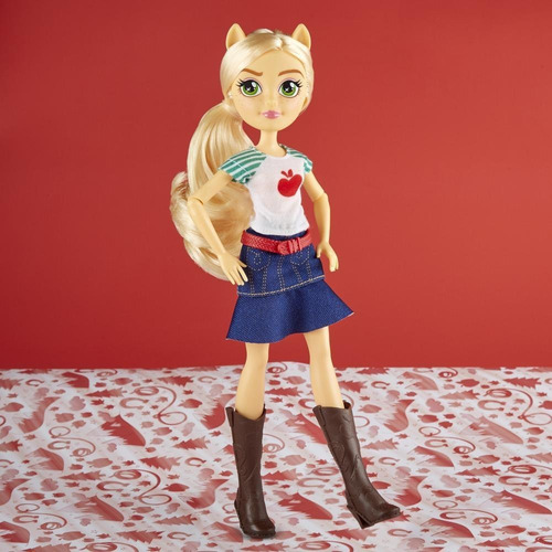 muñeca my little pony equestria girls applejack (3790)