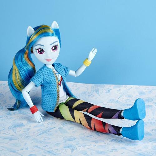 muñeca my little pony equestria girls rainbow dash (3790)