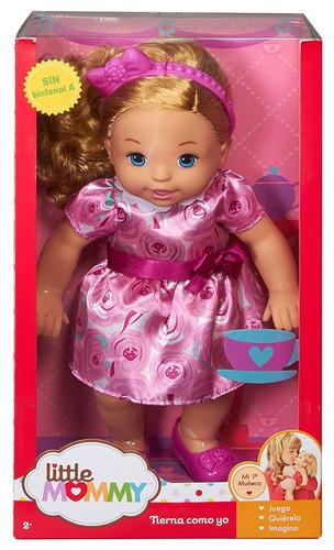 muñeca niña hora del té 14 pulgadas little mommy